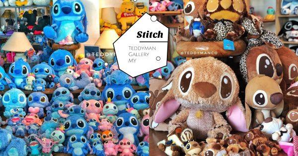 超疗愈Stitch王国Teddyman Gallery,Stitch迷必去的寻宝天堂!