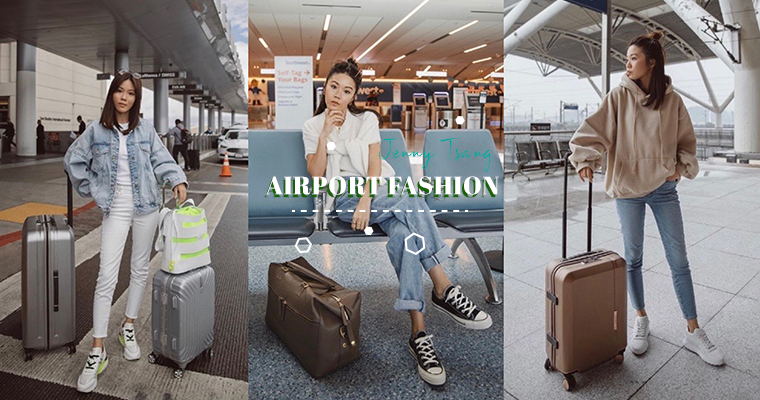 People & Outfits: Jenny Tsang, She Has The Most Comfortable Yet Stylish Airport Fashion