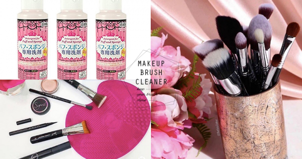 Ask Team #PopDaily: Makeup Brush Cleaners That Keep Your Brush Look As Good As New