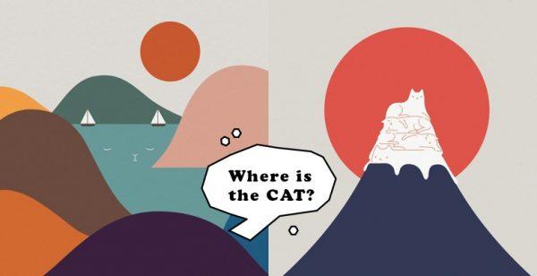 你能找出所有猫咪吗?疗癒有趣的「躲猫猫插画」,原来猫咪都藏在这裡!
