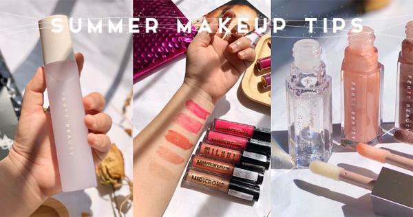 戴口罩不脱妆全靠它!从唇彩到定妆,教你打造「会呼吸的夏日妆容」!